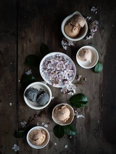 An Ode to Spring: Almond Wood Smoked Cherry Blossom Ice-Cream   Two Extra Flavours to Indulge Your Wanderlust