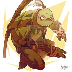 Donatello by Mikuloctopus.deviantart.com on @deviantART