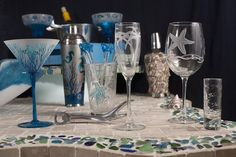 Beachy Barware~~~