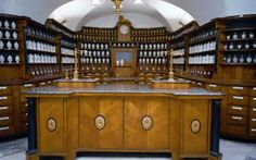 An old pharmacy in Prague http://www.praguecard.biz/attraction.php?id=517