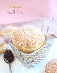 recette de beignets moelleux fourrés à la confiture #beignets