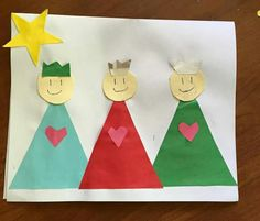 Pin do(a) lara jorge em diversos поделки, дети e новый год School Christmas Gifts, Preschool Christmas Crafts, Christmas Bible, Valentine's Day Crafts For Kids, Sunday School Crafts, Christmas Activities, Toddler Crafts, Kids Christmas, Art For Kids