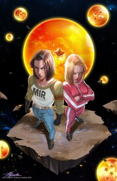 ArtStation - Android Twins, Kathryn Steele