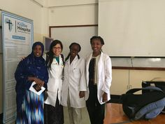 """Frist Global Health Leader, Britney Grayson, in her first trip to the continent of Africa: """"This is my first time on the continent of Africa and so many things have been a surprise."""""""