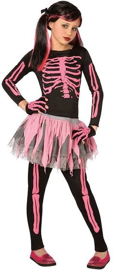 Pin for Later: 169 Warm Halloween Costume Ideas That Won't Leave Your Kids Freezing Punk Skeleton Costume Punk Skeleton Costume ($30)