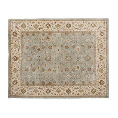 Pottery Barn Malika Persian-Style Tufted Wool Rug ($149) via Polyvore featuring home, rugs, wool rugs, persian style rugs, pottery barn, persian style area rugs and persian area rugs