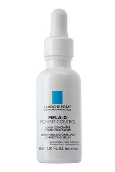 """La Roche-Posay's yellow-tinged serum is chock-full of kojic acid—a classic ingredient for neutralizing dark spots. """"Kojic acid reduces pigment and brightens the skin, making it ideal for hyperpigmentation as well,"""" Gerstner said."""