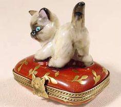 Siamese Kitten Limoges Box