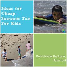 Making Summer Fun for Kids & Mama