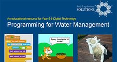 Programming for water management | Primezone - Primary Industries Education Resources