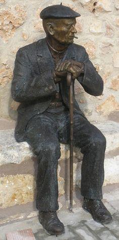 Esculturas de bronce.