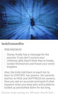Wow... Frozen
