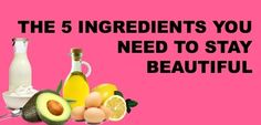 11 Beauty Products You Can Make Yourself Using Only Five Ingredients