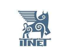 Itnet Logo Design | More logos http://blog.logoswish.com/category/logo-inspiration-gallery/ #logo #design #inspiration