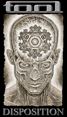 Alex Grey artwork which relates heavily to the psychedelic progressive genre.