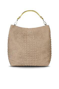 #AlbertaFerretti nude handbag