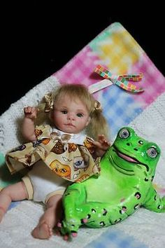 OOAK Baby Art Doll Polymer Clay by Svitlana  | eBay