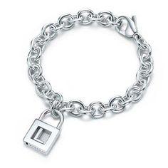 Tiffany Letter Tiffany L Charm Bracelet-$36.95
