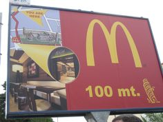 The Golden Arches are everywhere!