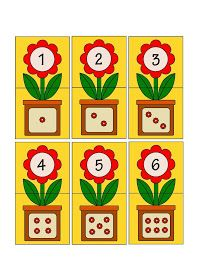 Printable flash card colletion for numbers with dots for preschool / kindergarten kids Kids Math Worksheets, Preschool Learning Activities, Preschool Activities, Teaching Kids, Numbers Preschool, Learning Numbers, Kindergarten Centers, Preschool Kindergarten, Math For Kids