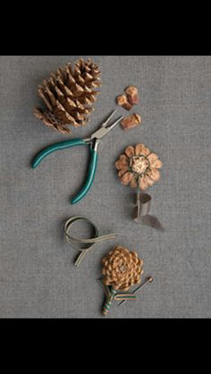 Diy pinecone bouquet