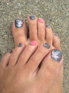 Toe Nail Art Designs For Beginners Ideas 46 cute toe nail art designs adorable toenail designs for Toe Nail Art Designs For Beginners. Here is Toe Nail Art Designs For Beginners Ideas for you. Toe Nail Art Designs For Beginners basic nail art tools . Beach Toe Nails, Pink Toe Nails, Simple Toe Nails, Cute Toe Nails, Summer Toe Nails, Pink Toes, Toe Nail Art, Acrylic Nails, Pedicure Summer