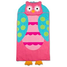 Personalized Owl Nap Mat Or Sleeping Bag For Toddler S Day Care Preschool And Kindergarten