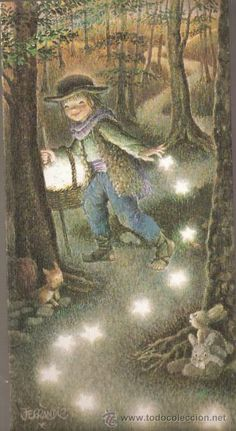 Vell i Bell Cicely Mary Barker, Sun And Stars, Beautiful Fairies, Good Morning Good Night, Cute Characters, Children's Book Illustration, Vintage Christmas, Fantasy Art, Fairy Tales