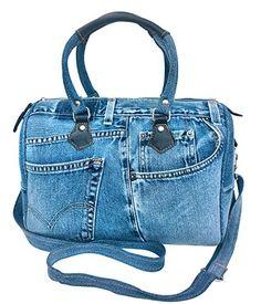 BDJ Unique Blue Denim Doctor Style Top Handle Shoulder Handbag BL070 Bijoux De Ja http://www.amazon.com/dp/B00JVPAKBE/ref=cm_sw_r_pi_dp_y3n-vb1DC0M4C