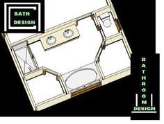 Bathroom Design Plan IdeasFree Master Bathroom Design Plan Ideas