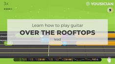 Your personal Guitar teacher! Learn how to play guitar with Yousician, it listens to you play and gives instant feedback. Easy Guitar Songs, Learn To Play Guitar, Rooftops, Listening To You, Playing Guitar, Acoustic, App, Motivation, Learning