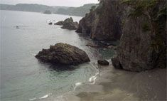 真崎海岸を訪ねるみち