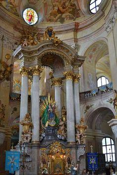 Church in Křtiny u Brna