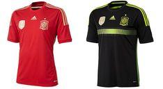 Camisa de la Copa Mundial 2014 de España