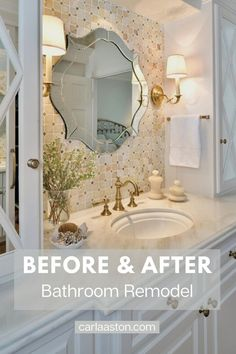 SEE THIS AMAZING TRANSFORMATION! Before and After Bathroom Remodel - This small bathroom and closet remodel will give you many ideas and solutions for small space bathroom design. Click through to see! Closet Remodel, Shower Remodel, Bath Remodel, Guest Bathrooms, Bathroom Ideas, Small Space Bathroom, Drawer Design, Kitchen And Bath Design, Large Shower