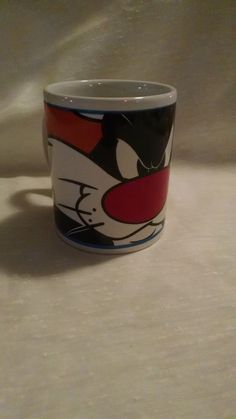 Looney Toones Sylvester the Cat Cup 2000 Gibson