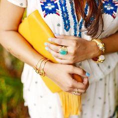 The perfect #saturday ensemble! ✨#julievos #jewelry