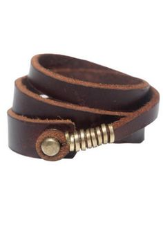 Brown Wrap Bracelet