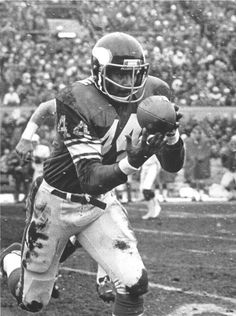 Chuck Foreman. Drafted 1st Rd 12 overall. Jan 30, 1973. SkolVikings.: