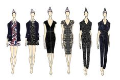 Sketches from Stories... By Kelly Osbourne. [Courtesy Photo]