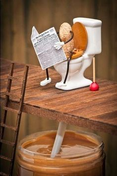 Pahhh. where peanut butter comes from...