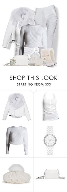 """""""White Winter"""" by cavell ❤ liked on Polyvore featuring Cushnie Et Ochs, adidas, Felipe Oliveira Baptista, DKNY, Eugenia Kim, Calvin Klein Collection and Wet Seal"""