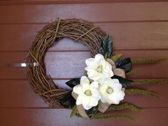 Magnolia wreath...