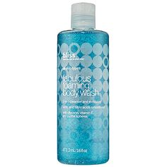#SephoraColorWash - bliss Fabulous Foaming Body Wash