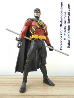 Red Robin (DC Universe) Custom Action Figure