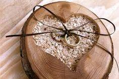 Resultado de imagen para cojin de anillos de boda vintage