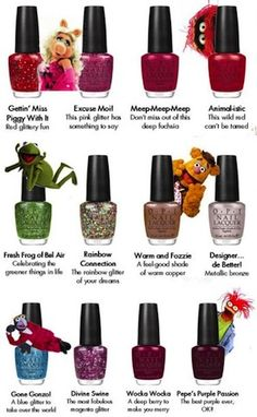 OPI- The Muppets Collection