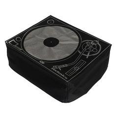 Dust cover for Technics turntables. Technics Turntables, Dj Headphones, Dj Equipment, Covered Decks, Fabric Covered, Graphic Prints, Vinyl Records, Screen Printing, Music Instruments
