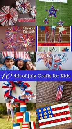 Housewife Eclectic: 10 Fourth of July Crafts for Kids