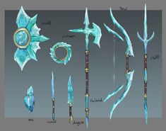 Ice weapons concept